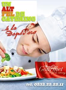 Dopo Poco Gourmet- un alt fel de catering